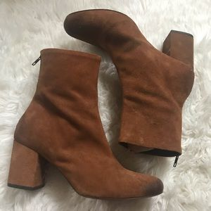Free People Cecile Ankle Boots NWT